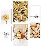 Mia Félice Premium Poster Set » Pumpkin Season « 2x A3 |