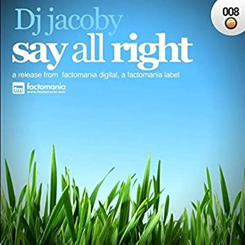 Say All Right