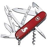 Victorinox Taschenmesser Angler (18 Funktionen, Klinge, Fischentschupper, Kombizange) rot