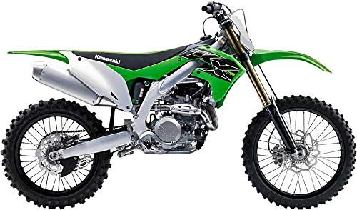 New-Ray Kawasaki KX 450F Green 1/12 Diecast Motorcycle Model 58103