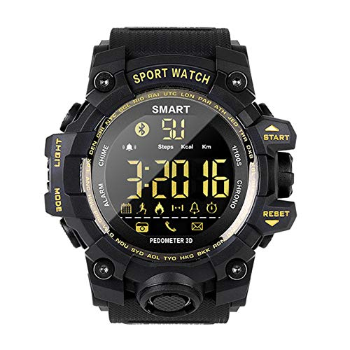 Smart Horloge Man Fitness Tracker Horloge Passometer Message Herinnering Call Herinnering Noctilucent Wekker Chronograph