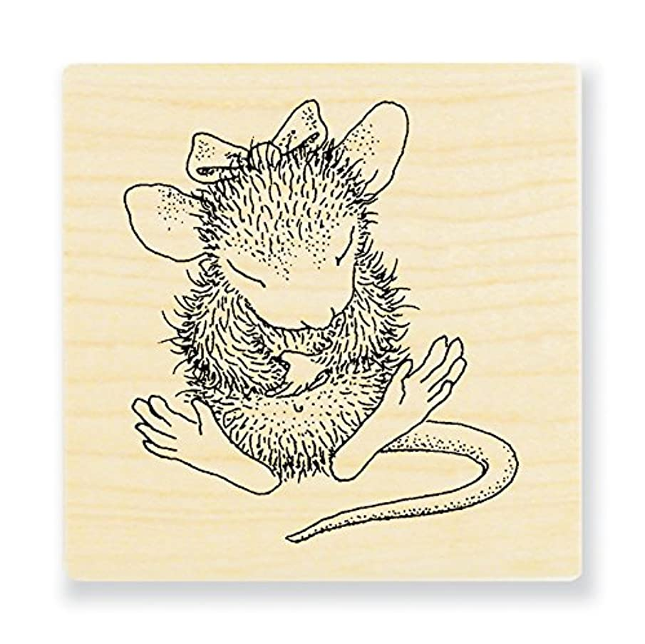 STAMPENDOUS Rubber House Mouse Stamp Sitting Pretty