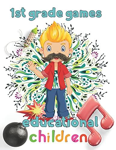 1st Grade games educational children: 8.5''x11''/1st grade math