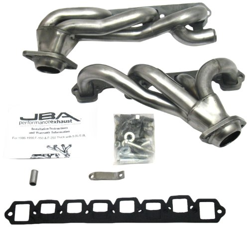 JBA 2010S 1-1//2 Shorty Stainless Steel Exhaust Header for Tundra//Sequoia 4.7L