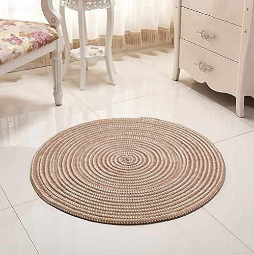 Alfombras Redondas Yute Pequeñas alfombras redondas  Marca Nicole Knupfer