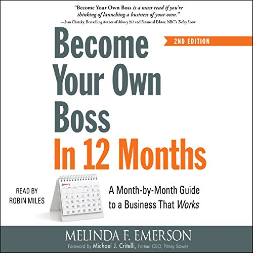 Become Your Own Boss in 12 Months audiobook cover art