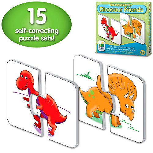 My First Match It - Dinosaurs - 15 Self-Correcting Matching Puzzles