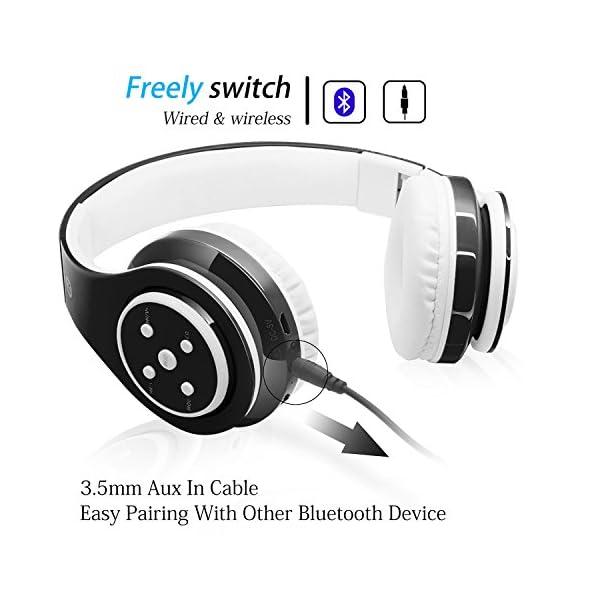 Kids Wireless Headphones Bluetooth Foldable Headset 4