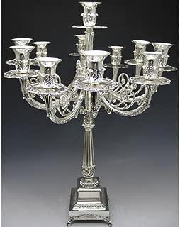 Silver Plated Candelabra 11 Branch