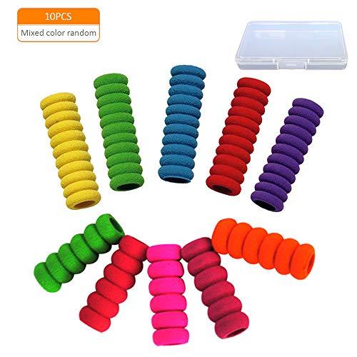 ZEVONDA 10 Stück Kinder Bleistifthalter Stift Schreiben Grip Haltung Korrektur Werkzeug für Bleistifte