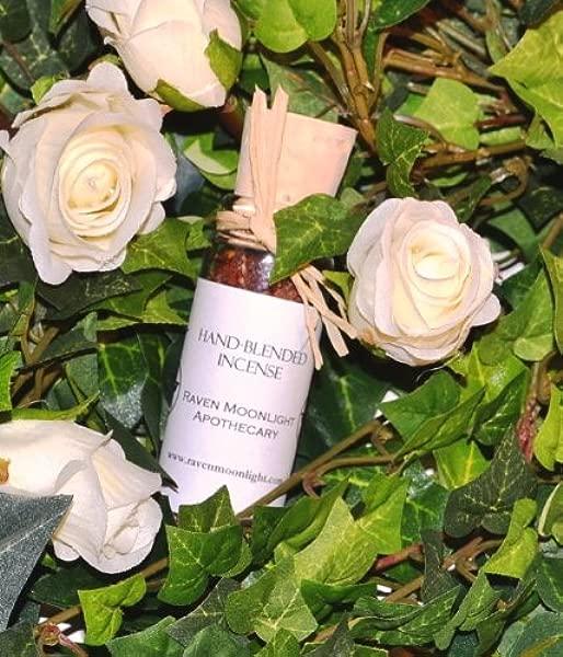 Raven Moonlight Hand Blended Herbal Incense Isis Goddess Blend