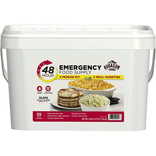 Augason Farms 48-Hour Emergency Food Supply 4 Person Kit, 94.47 oz