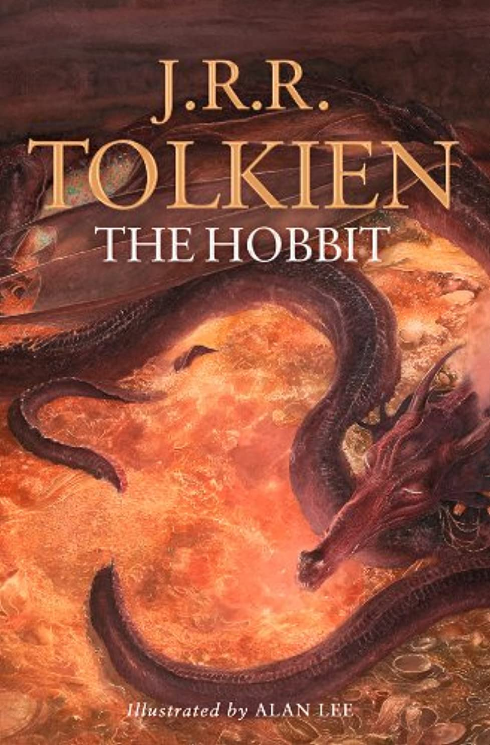復活新聞水The Hobbit: Illustrated by Alan Lee (English Edition)