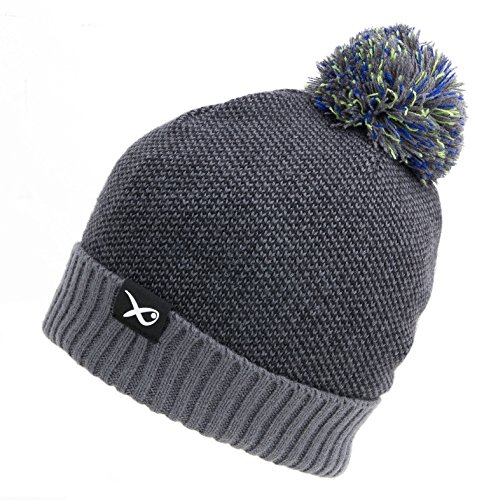Fox Matrix Bobble Hat GPR152 Mütze Bommelmütze Wintermütze Angelmütze