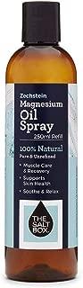 The Salt Box Zechstein Magnesium Oil 250ml Refill Pure Unrefined Magnesium Supplement – Australian Owned