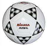 Mikasa FSC62 America Futsal Soccer Ball (Black/White,...