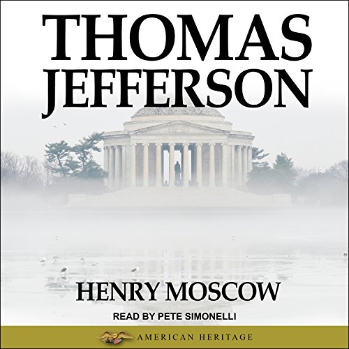 Thomas Jefferson audiobook cover art