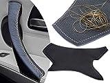 Guarnizione in pelle con maniglia danneggiata per 3 serie E90 E91 E92 E93 e M3 - Punto dorato, PASSANTE DESTRO, anteriore o posteriore