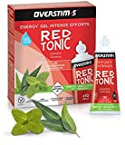 OVERSTIM.s - Red Tonic (10 Geles) - Menta-Eucalipto - Gel Energético Para Esfuerzos Intensivos 300 g