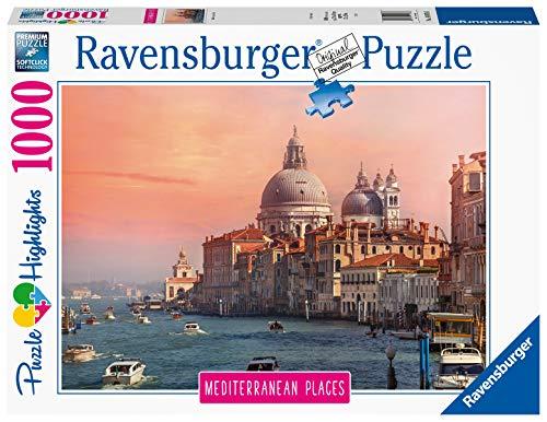 Ravensburger Collezione Mediterranean Places: Venezia, Puzzle, 1000 Pezzi, Colore Multicolore, 14976 6