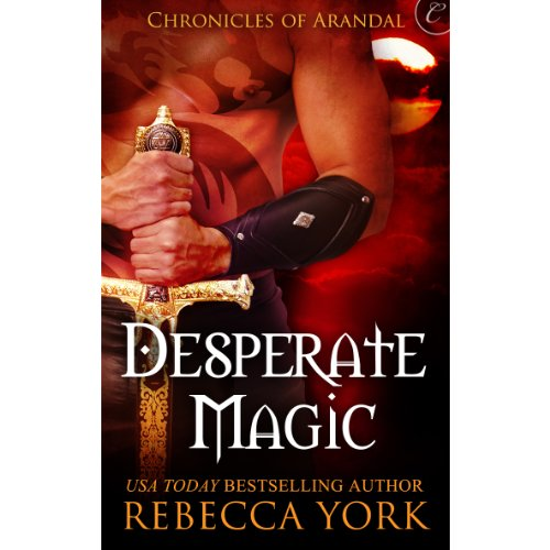Desperate Magic audiobook cover art