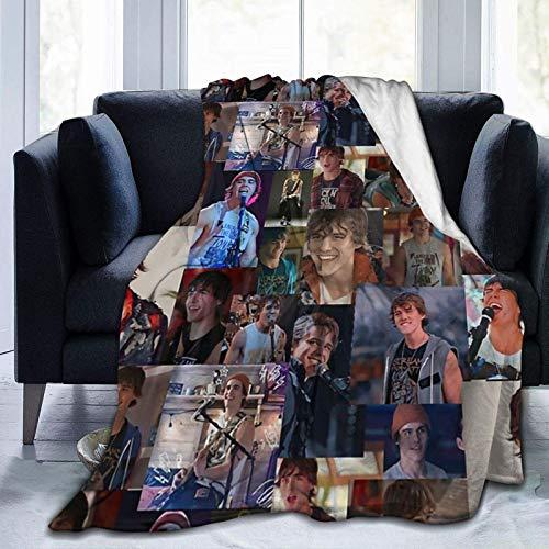 Yuantaicuifeng Julie und die Phantome Luke Throw Blanket Geeignete Ultra Soft Weighted Bedding Fleece Decke für Schlafsofa Office 60 'x 50' Travel Multi-Size für Erwachsene