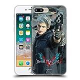Head Case Designs Oficial Devil May Cry 5 Nerón Personajes Carcasa de Gel de Silicona Compatible con Apple iPhone 7 Plus/iPhone 8 Plus