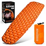 Outdoorsman Lab Sleeping Pad for Camping - Patented Camp Mat, Ultralight (14.5 Oz) - Best Compact...
