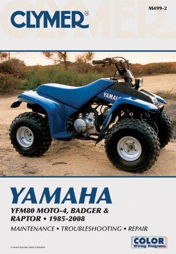 Yamaha YFM80 MOTO-4, Badger & Raptor 2001-2008 by Penton Staff (May 24,2000)