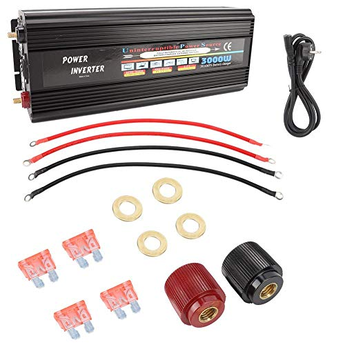 Omvormer op zonne-energie, inverter, zuivere sinus omvormer 3000 W AC220 V, Power Converter versterker Home Inverter, 3000 watt omvormer zonne-omvormer