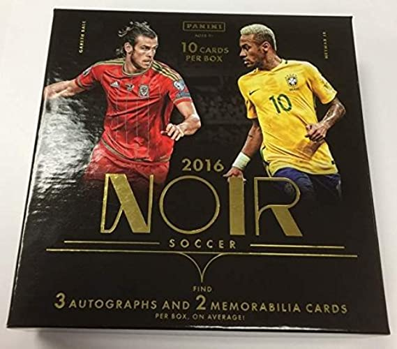 2016 17Panini Noir Soccer Hobby Box