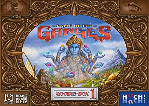Hutter Trade GmbH & Co. KG Rajas of The Ganges - Goodie-Box 1 Brettspiel, bunt