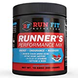 Runner's Performance Mix - Energy & Endurance Drink Mix - Running Pre Workout or During Run - B...