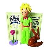 Le Petit Prince, Figura de El Principito con conejo y libro, para coleccionar, Enesco