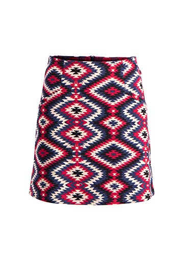 Blutsgeschwister Frauen Rock Chattanooga Choo Choo Skirt (XL, Ride to The Sunset)