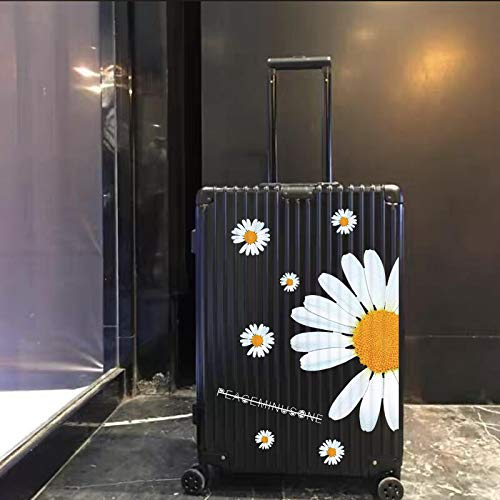 YUHANG Quan Zhilong GD The same little daisy stickers Literary luggage stickers Large whole suitcase Trolley stickers tide