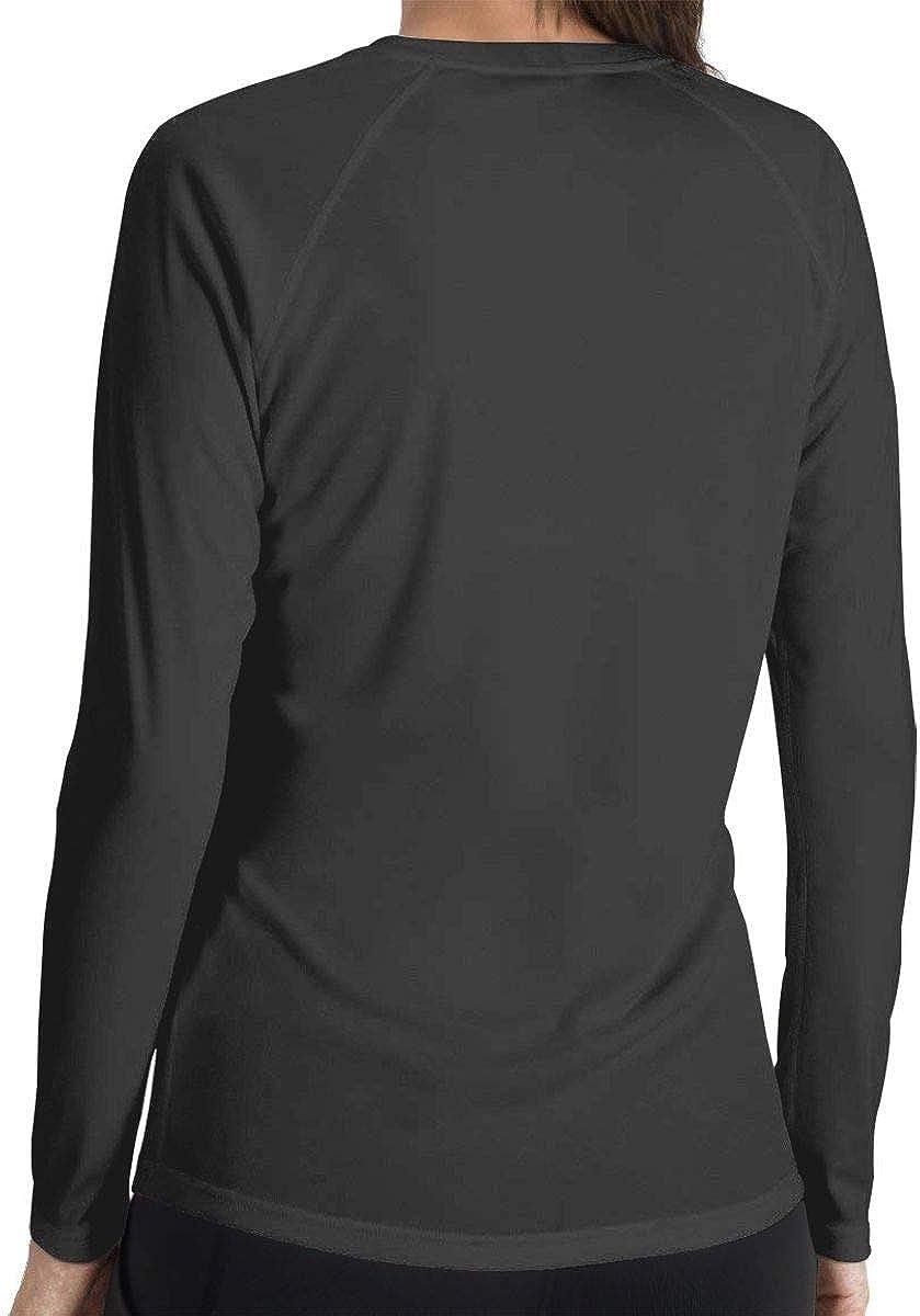 LLiYing-D Just Cure Leukemia Awareness Womens Casual Long Sleeve T-Shirt