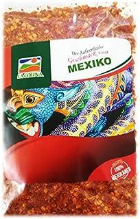 Arbol Chili geschrotet 100g   Capsicum annum   Der authentische Geschmack Mexikos