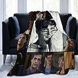 VHOPE Matthew-Gray-Gubler Blanket Super Soft 3D Printing Polyester Anti-Ball Throw Blanke for Men Women Kids 50'x40'