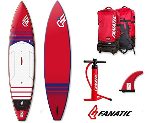Fanatic Blu-ray Touring Air Premium Inflatable Sup 201612.6Windsurf Stand Up Paddle Board