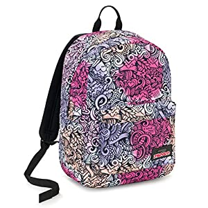 51Y3HVVoOML. SS300  - Seven Ischoolpack Seven Pinkshade Mochila Tipo Casual 44 Centimeters 27 Rosa