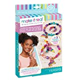 Make It Real - Rainbow Dream Jewelry. DIY Charm Bracelet Making Kit for Girls. Arts and Crafts Kit to Design...