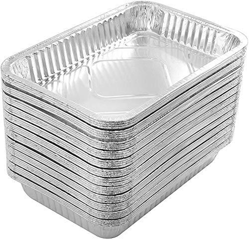 30 PCS Vassoi in alluminio monouso Vassoi in latta Vassoi...