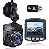 Dash Cam ,【2021 New Version】 1080P Full HD Dash Camera for Cars Front with 2.31-Inch LCD Screen, Night Vision, 170° Wide Angle, G-Sensor Motion Detection and Parking Monitor , Loop Recording