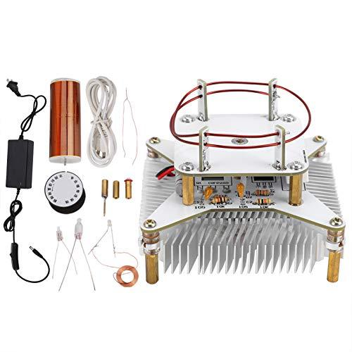 Mini Musica Tesla Coil Altoparlante al plasma Kit fai da te Altoparlante al plasma Tesla Trasmissione wireless Alimentatore solido Kit fai da te