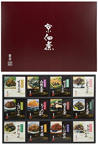 京佃煮12品詰め合せ 京洛味彩 TI-50