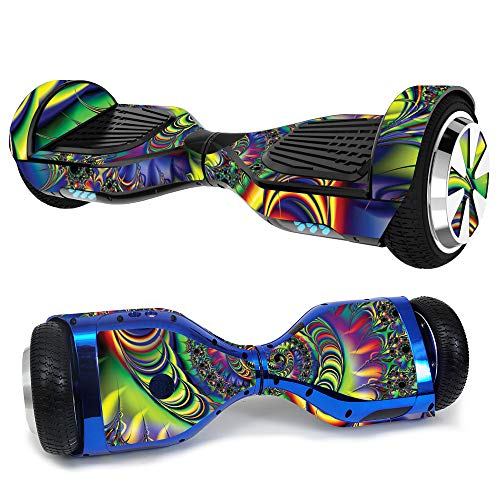 MightySkins Skin Compatible with Hover-1 H1 Hoverboard Scooter - Acid | Protective, Durable, and Unique Vinyl Decal wrap Cover | Easy to Apply, Remove, and Change Styles | Made in The USA