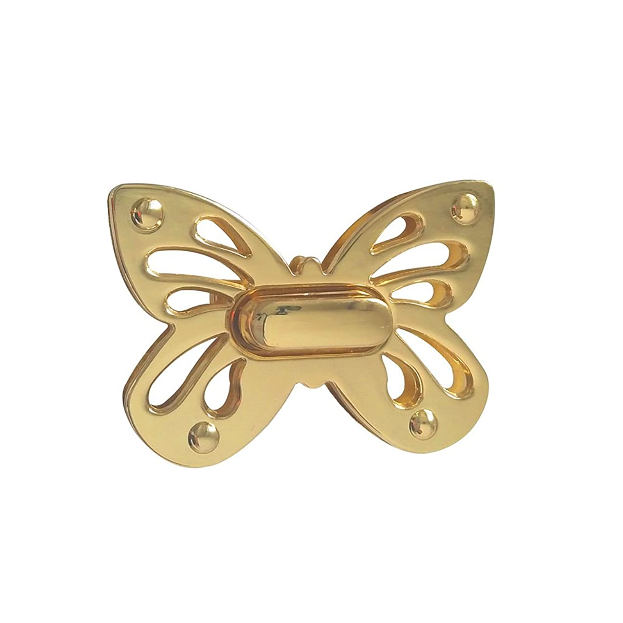 YEJI Sets of 1 Butterfly Purses Locks Clutches Closures with Butterfly shape,Purse Twist Lock