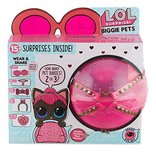 L.O.L. Surprise! Biggie Pet - Spicy Kitty [並行輸入品]