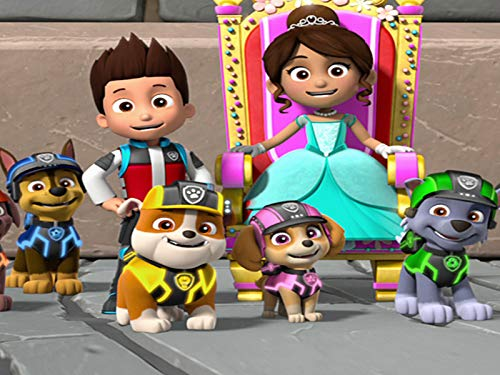 Mission PAW: Pups Save the Royal Throne